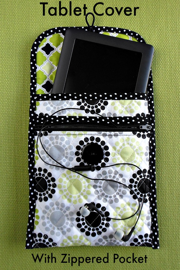 Tablet Cover With Zippered Pocket 1