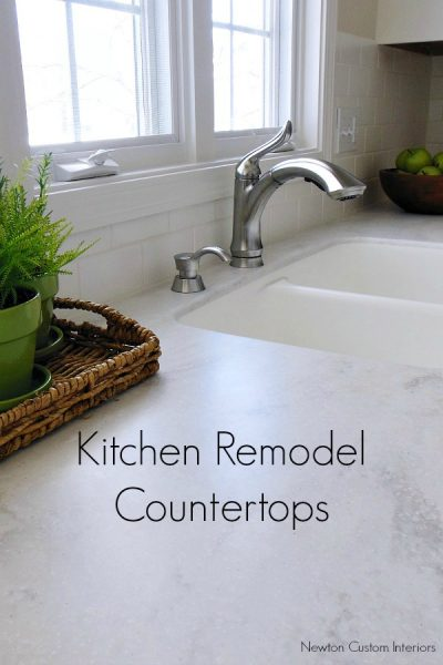 Kitchen Reveal – Kitchen Countertops