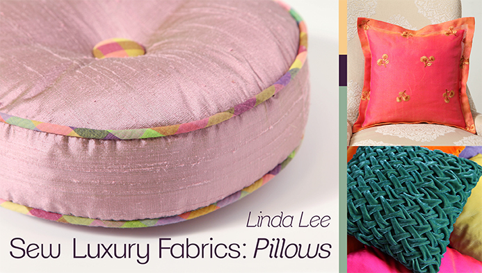 luxery fabrics pillows class