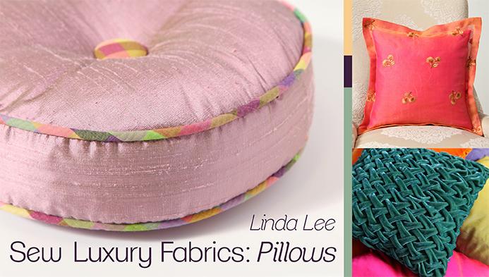 luxery fabrics pillows class