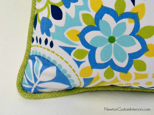 pillow with cording for page