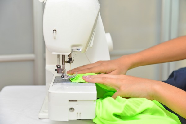 sewing machine for page