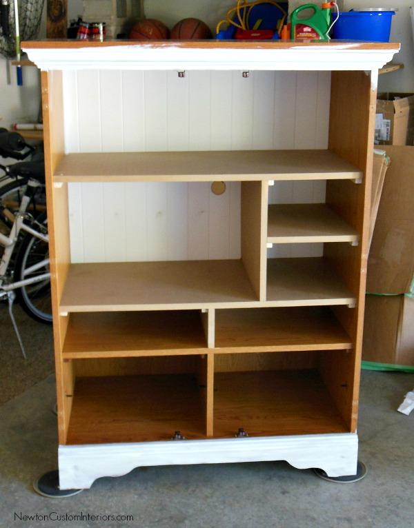 tv cabinet paint