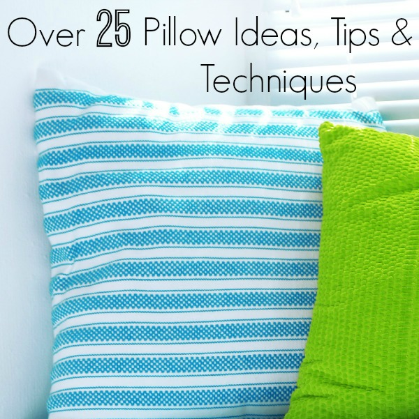 Throw Pillow Yardage : How To Make Pillows - Newton Custom Interiors