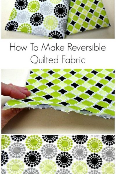 Make Your Own Quilted Fabric