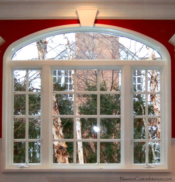 how to make window treatments for arched windows