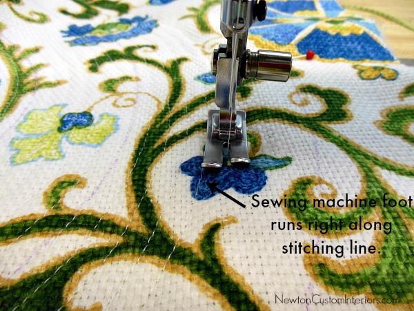 place mat stitching