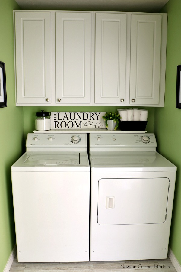 Laudry Room Reveal From Newtoncustominteriors How To Choose Paint Colors