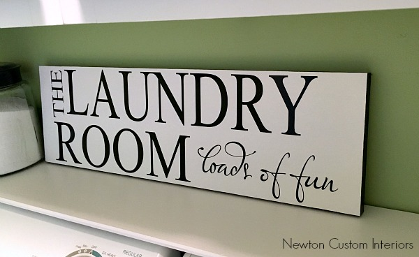 how to make a sign using vinyl letters - newton custom interiors