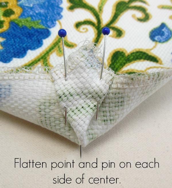 pin corner flat