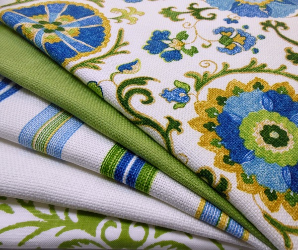 Fabrics for dining and living rooms