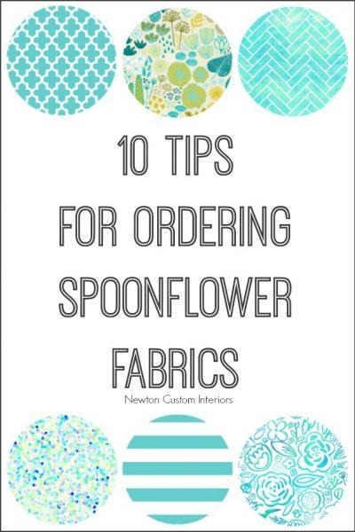 Spoonflower Fabrics – 10 Tips For Ordering