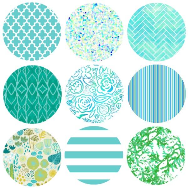 Spoonflower Fabrics Samples Of Designs