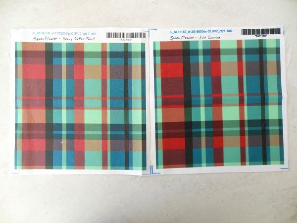 Spoonflower Fabrics - Samples