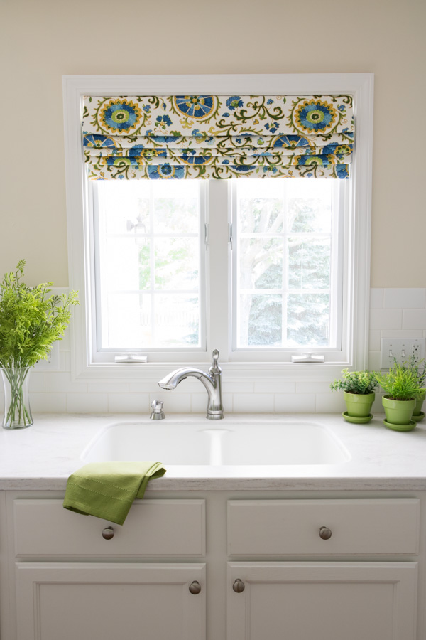 Roman Shade Valance Newton Custom Interiors