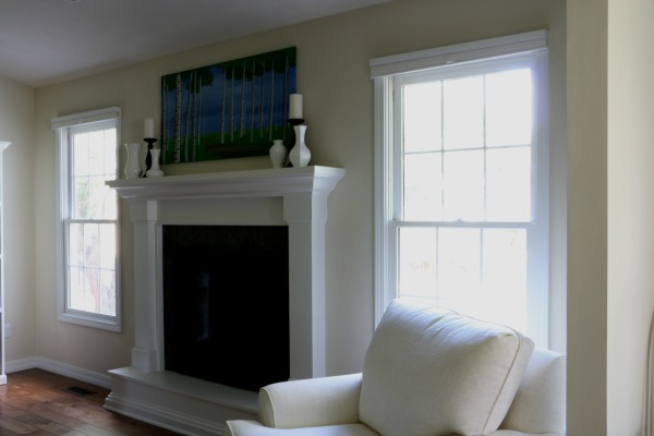 window trim painted