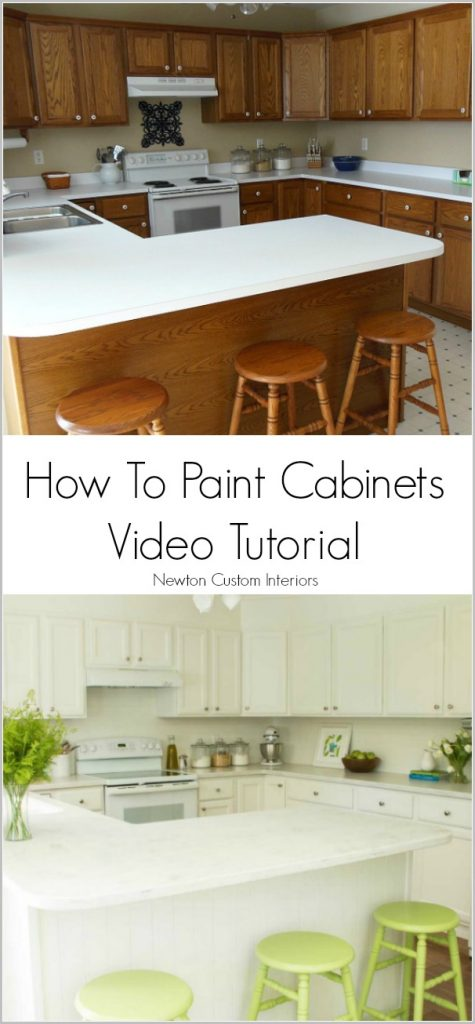 how to paint cabinets 943