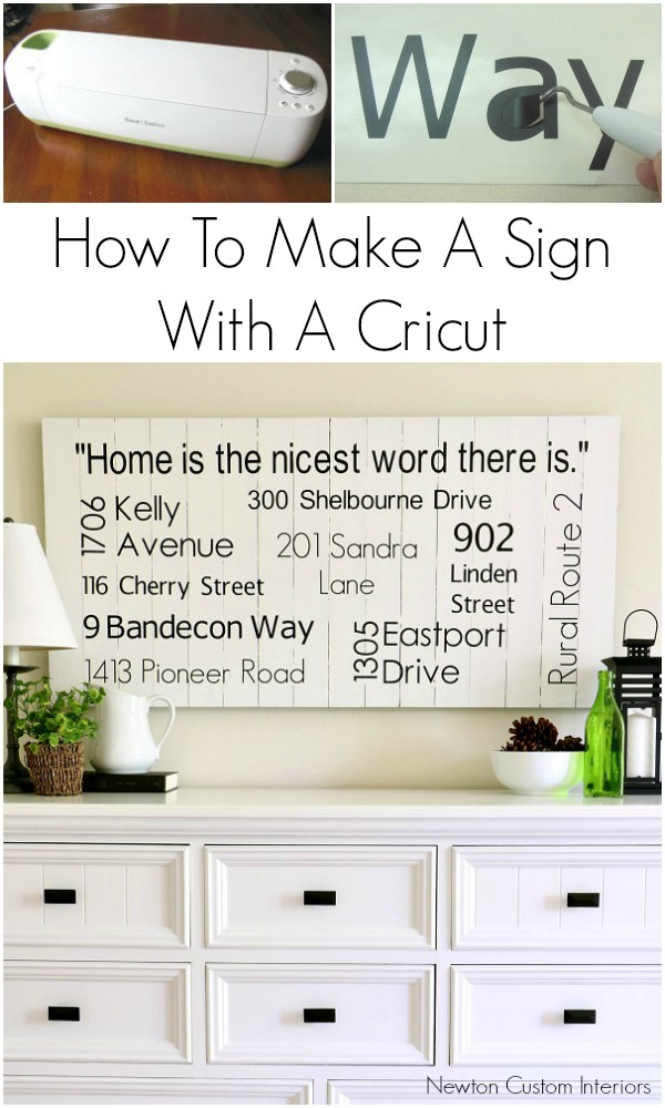 Nice Learn How To Make A Sign With A