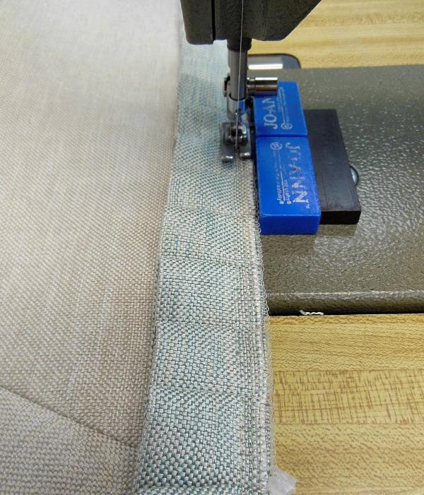 sewing-ruffle-to-skirt