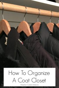 How To Organize A Coat Closet