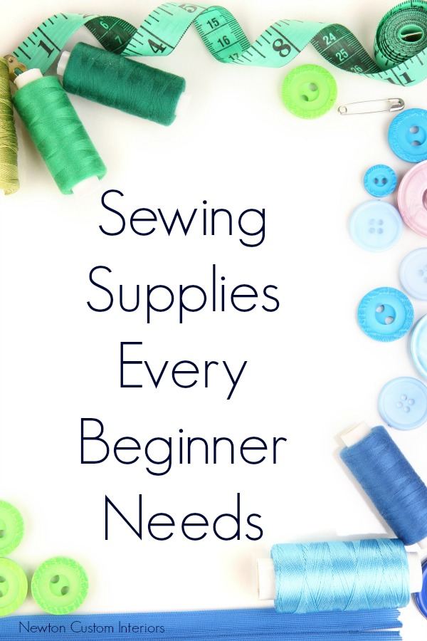 Sewing Supplies Every Beginner Needs