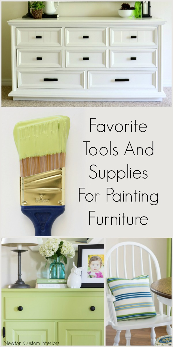 Supplies For Painting A Room favorite tools & supplies for painting furniture - newton custom