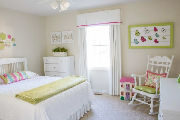 It Also Looks Good With The Pinks And White That I Used In Our Guest Bedroom Known As Granddaughter S Room