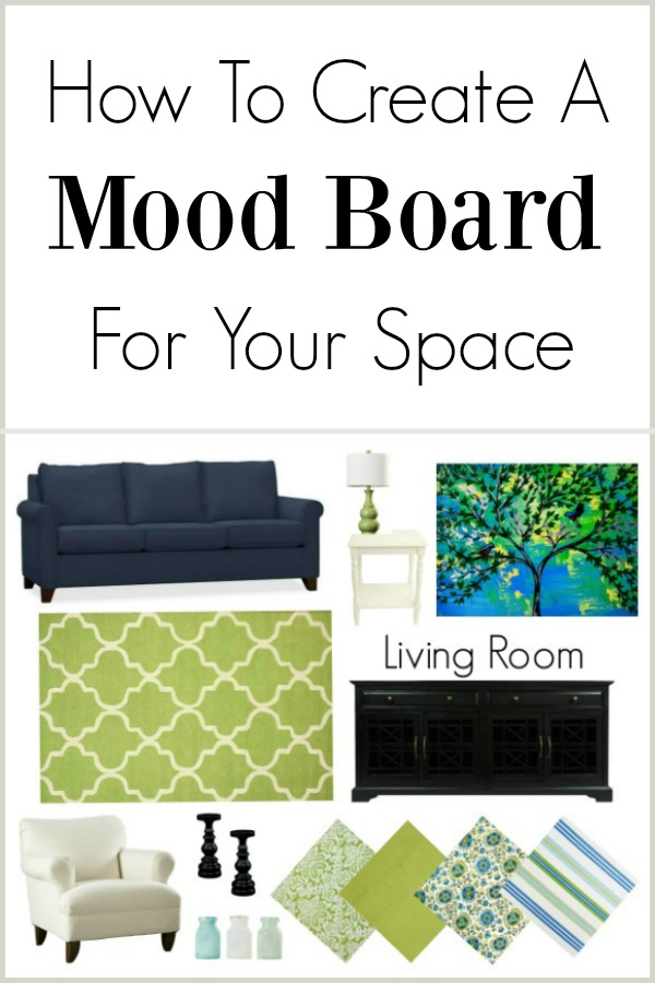 How to create a mood board for your space.