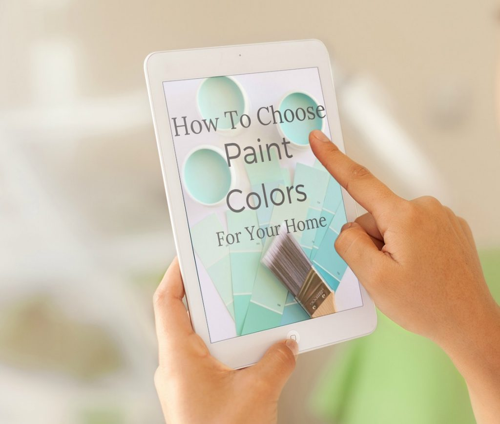 How to choose paint colors for your home newton custom for How to pick paint colors
