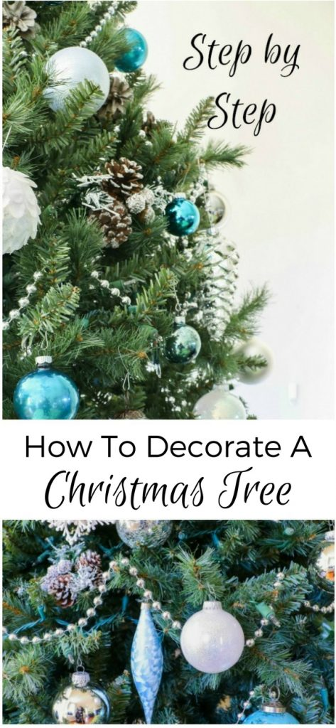 Learn step-by-step how to decorate a Christmas tree with this detailed tutorial!