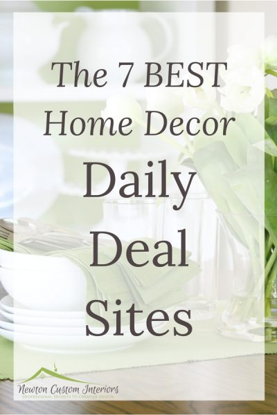 The 7 BEST Home Decor Daily Deal Sites