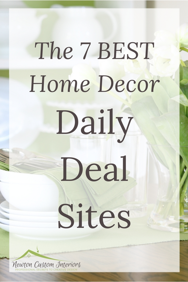 The 7 Best Home Decor Daily Deal Sites Find You Love At