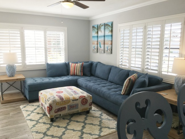 Bon Coastal Decor Living Room.