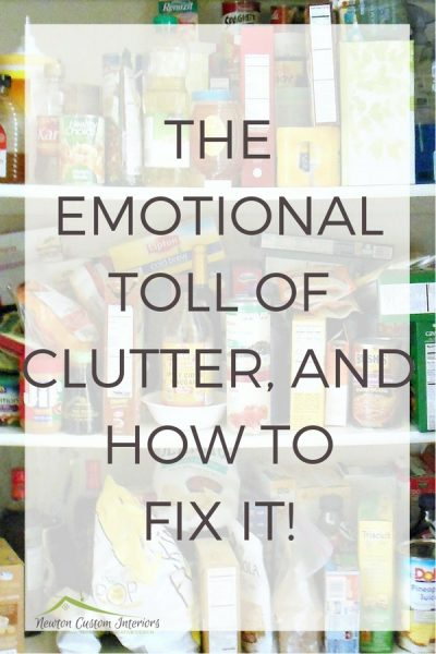 The Emotional Toll Of Clutter