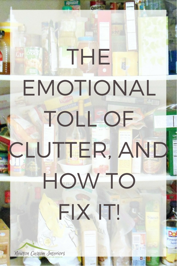 Learn how the emotional toll of clutter can impact your life, and what to do about it!