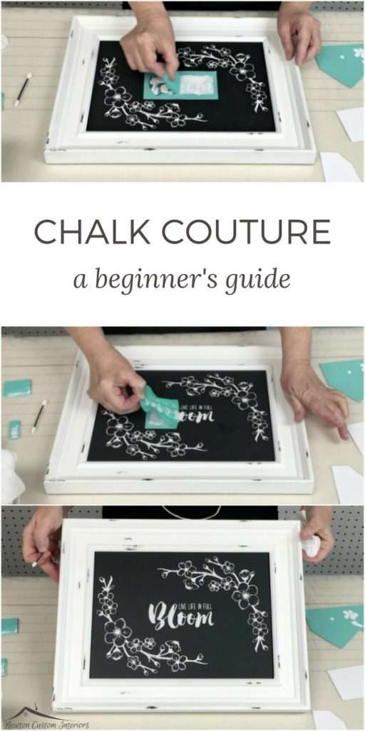 In this beginner's guide to Chalk Couture, you'll learn step-by-step how to make wall art for your home using chalk paste!