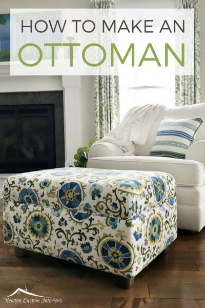 How To Make An Ottoman