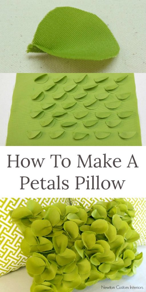 Learn how to make this fun petals pillow with this step-by-step tutorial!