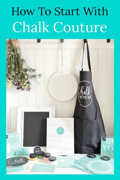 Selling Chalk Couture – How To Get Started!
