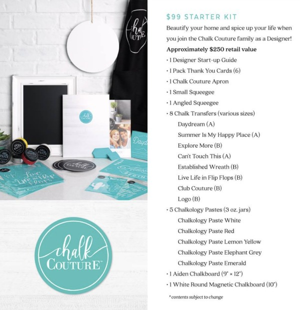 Selling Chalk Couture - How To Get Started! - Newton Custom
