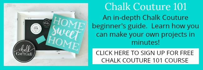 Chalk Couture Course