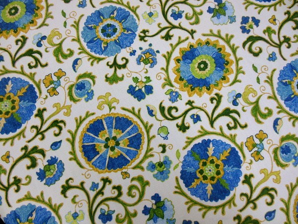 Fabric for living room and kitchen.