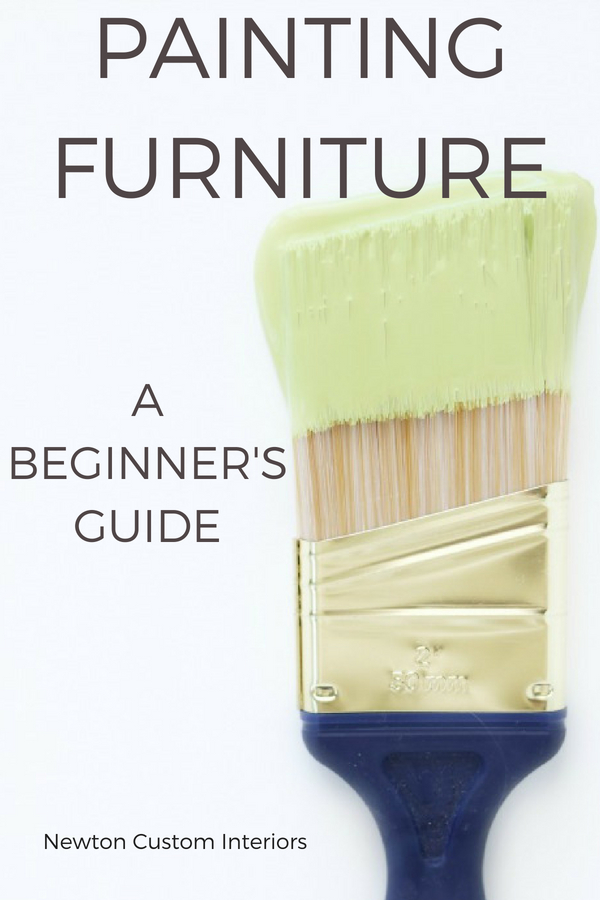 Beginner's guide to painting furniture.