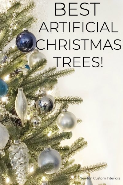 Best Artificial Christmas Trees!