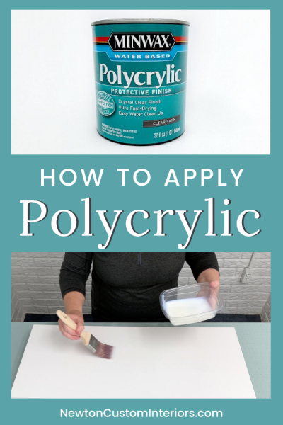 How To Apply Polycrylic Over Paint